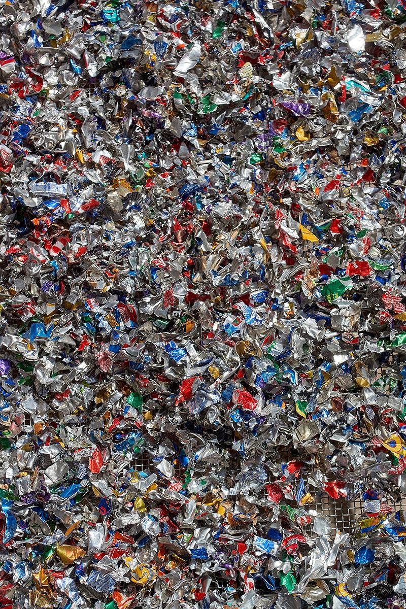 shredded aluminium flakes