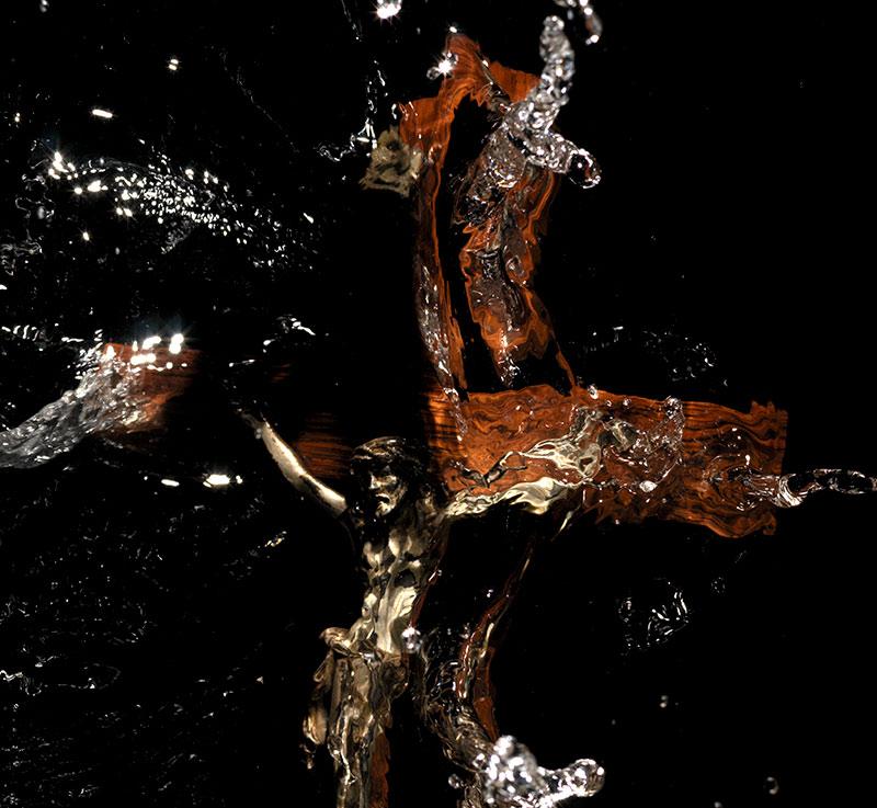 splash crucifixion series