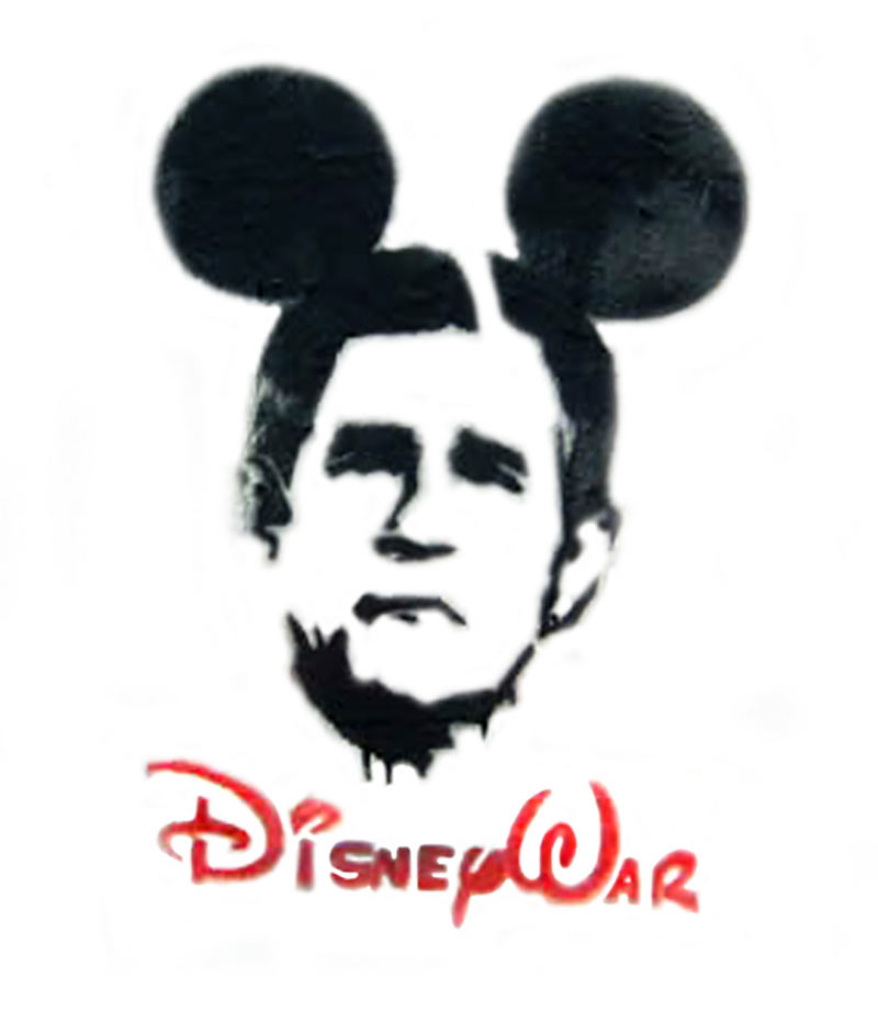 president bush Disney war rebranding as Disney War