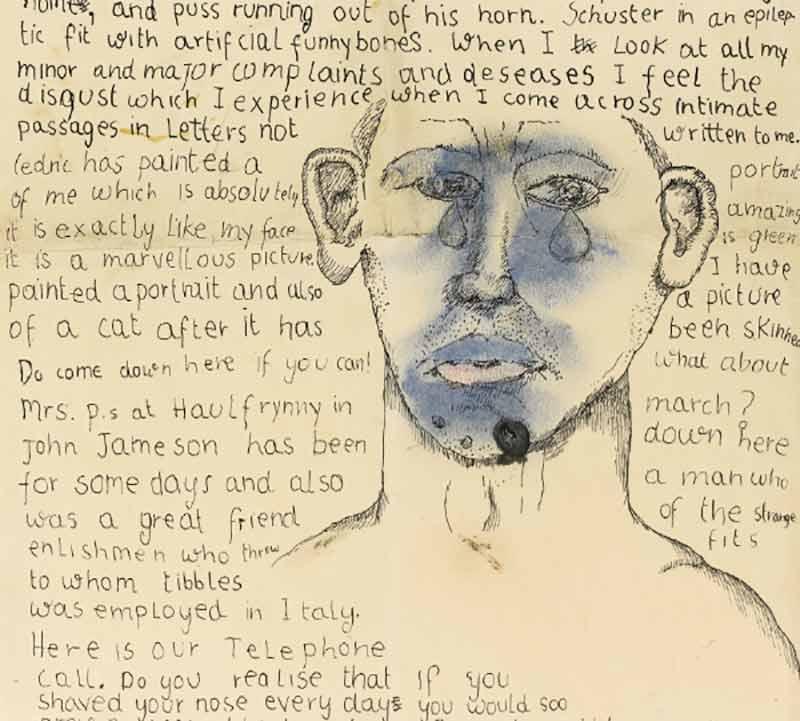 freud letter sketch