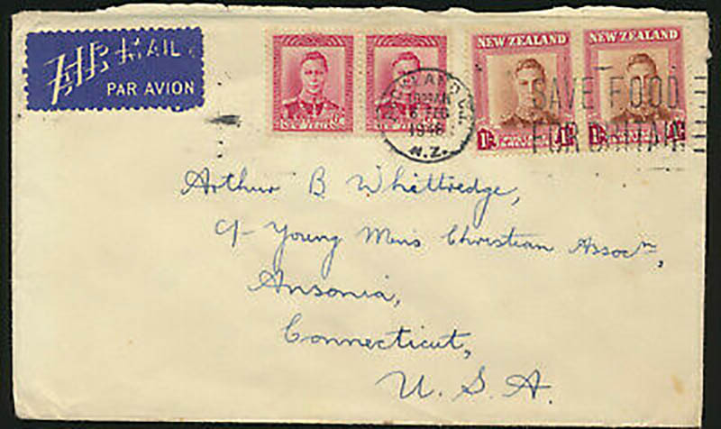 old postage envelope stampage
