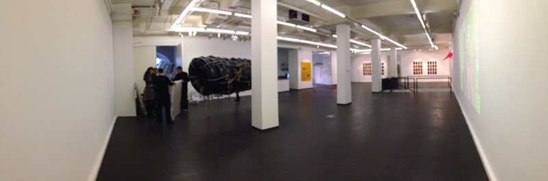 interior view of triumph gallery moscow as artist alexander james hamilton prepares for his solo exhibition