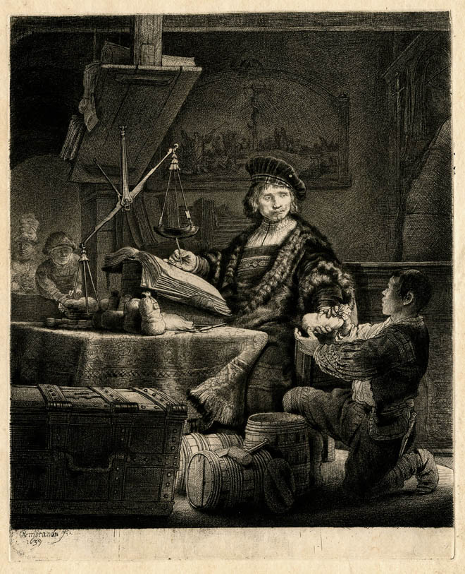 Rembrandt etchings collection online