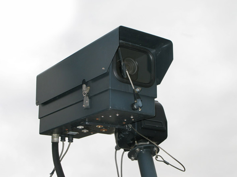 old style surveillance camera design circa 2006