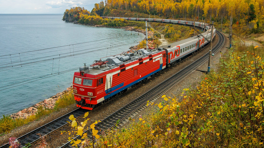 trans siberian express railway journey fro an artists eye